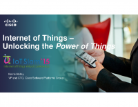 IoT Slam Internet of Things Conference KEYNOTE IOT, SOFTWARE AUTOMATION AND THE NEXT ERA