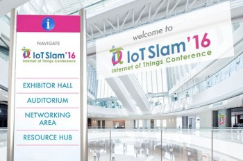 IoT Slam Internet of Things Conference 2016 Lobby